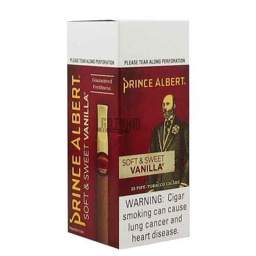 Prince Albert Soft & Sweet Vanilla Box