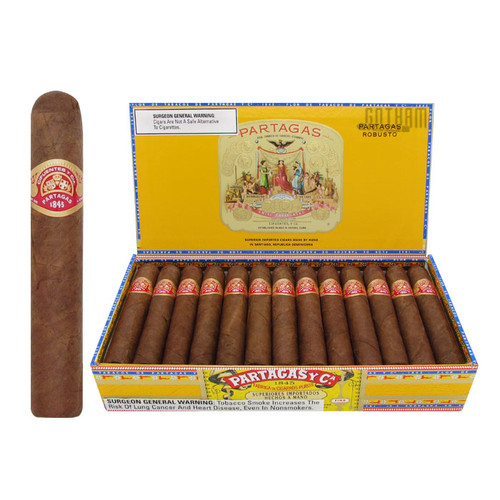Partagas Robusto Open Box and Stick