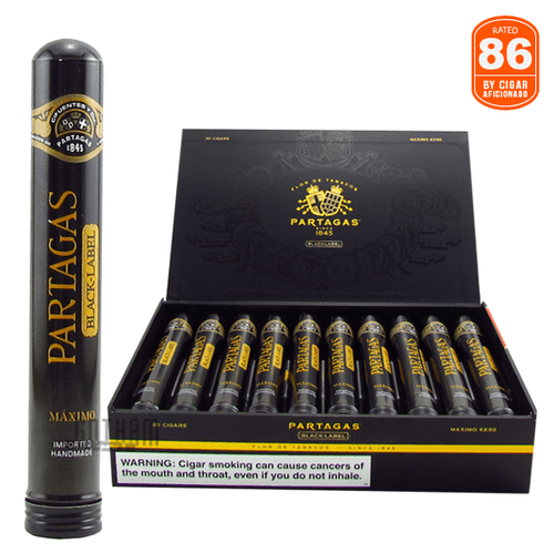Partagas Black Label Maximo Box and Stick