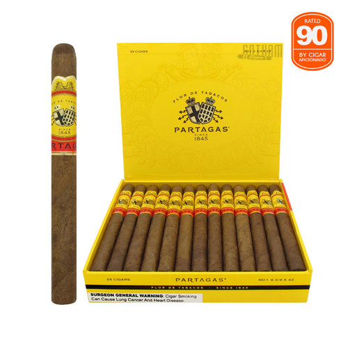 Partagas #1 Open Box and Stick