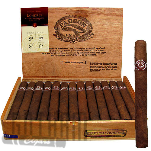 Padron Londres Natural Box & Stick