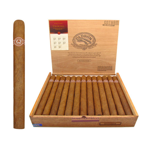 Padron Churchill Natural Open Box and Stick
