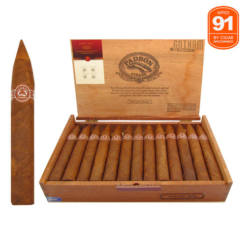 Padron 6000 Natural Open Box and Stick
