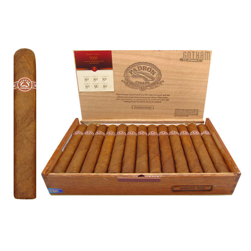 Padron 5000 Natural Open Box and Stick