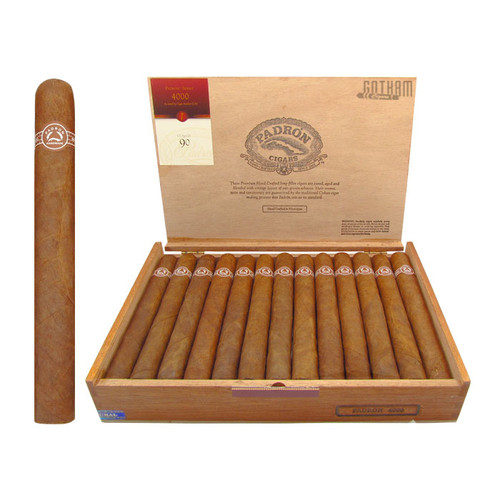 Padron 4000 Natural Open Box and Stick