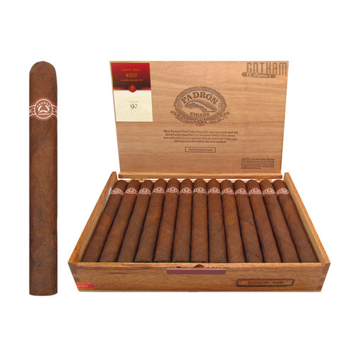 Padron 4000 Maduro Open Box and Stick