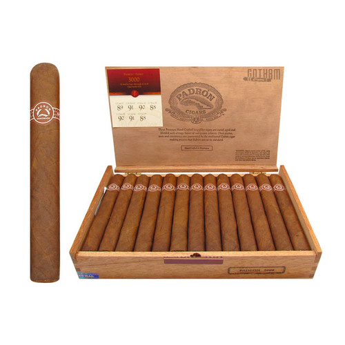 Padron 3000 Natural Open Box and Stick