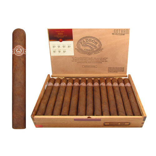 Padron 3000 Maduro Open Box and Stick