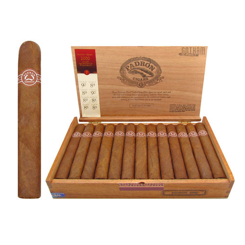 Padron 2000 Natural Open Box and Stick
