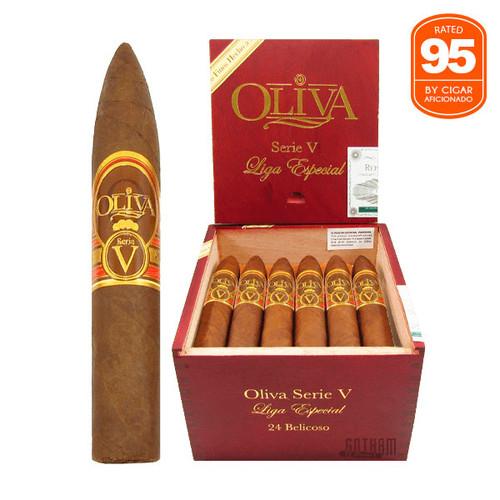 Oliva Serie V Belicoso open box and stick