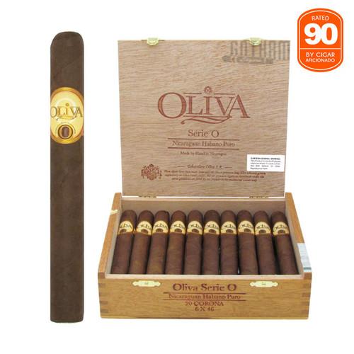 Oliva Serie O Corona Open box and stick