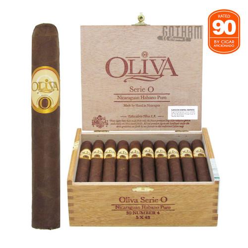 Oliva Serie O No. 4 Open box and stick