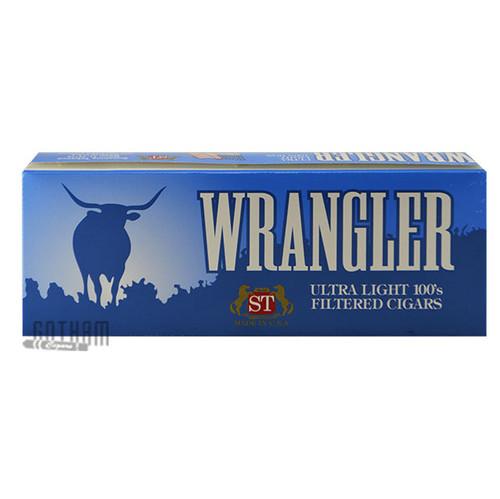 Wrangler Filtered Cigars Ultralight carton
