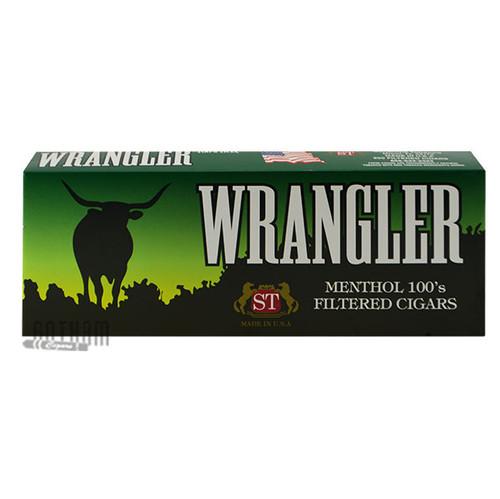 Wrangler Filtered Cigars Menthol carton