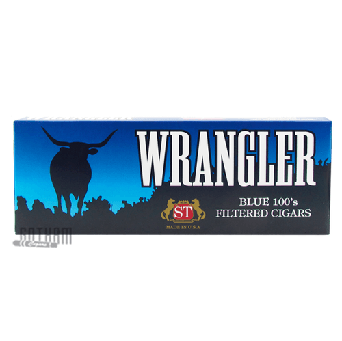 Wrangler Filtered Cigars Blue Box