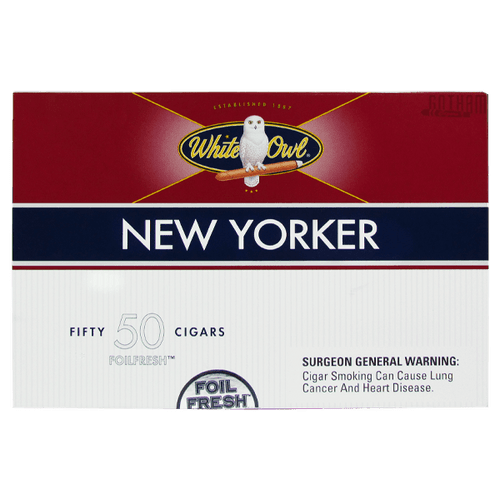 White Owl New Yorker Box carton