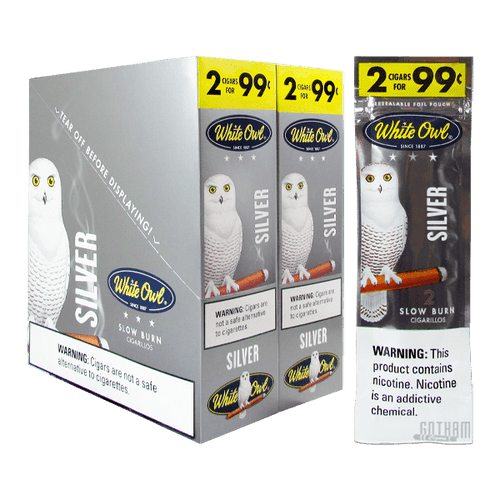White Owl Cigarillos Silver