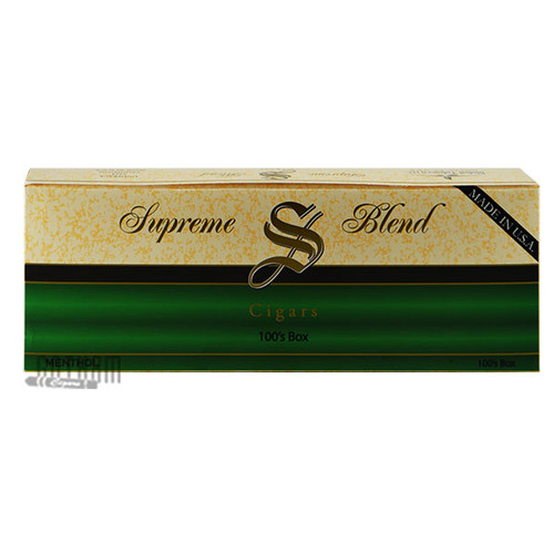 Supreme Blend Filtered Cigars Menthol carton