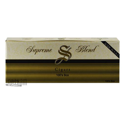 Supreme Blend Filtered Cigars Lights carton
