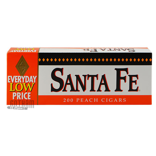 Santa Fe Filtered Cigars Peach carton