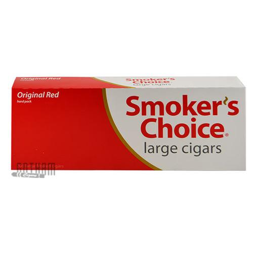 Smoker's Choice Filtered Large Cigars Red carton