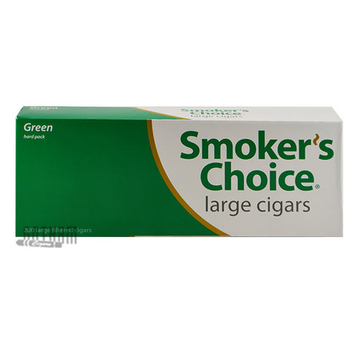 Smoker's Choice Filtered Large Cigars Green Pack