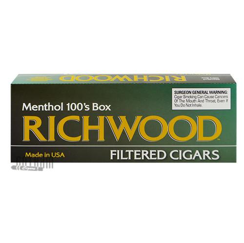 Richwood Filtered Cigars Menthol 100 carton