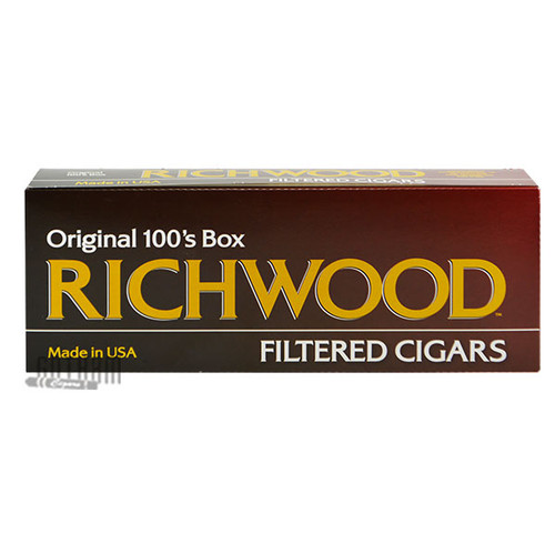 Richwood Filtered Cigars Full Flavor 100 carton