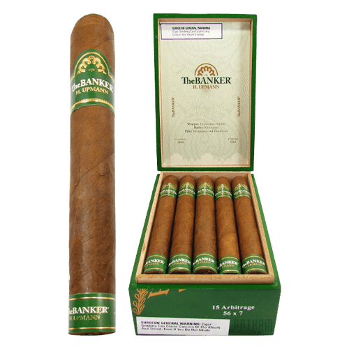 H. Upmann The Banker Arbitrage open box and stick