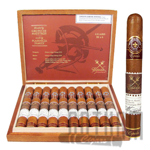Montecristo Espada Guard Box & Stick