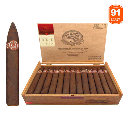 Padron 6000 Maduro Open Box and Stick