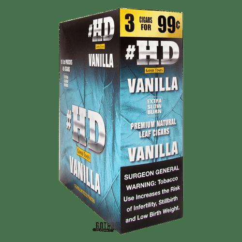 Good Times Cigarillos #HD Vanilla Box