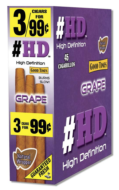 Good Times Cigarillos #HD Grape upright