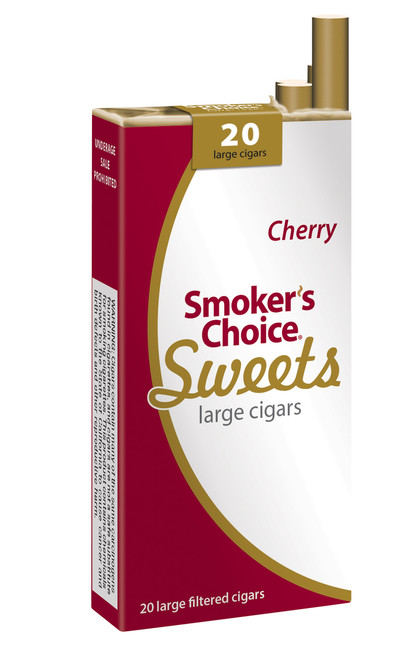 Smoker's Choice Sweets Large Cigars Cherry