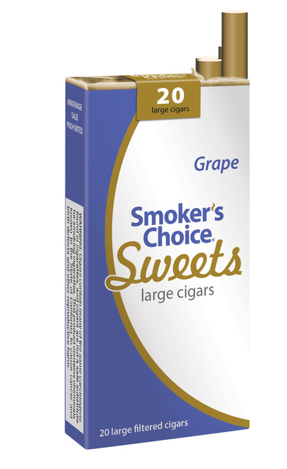 Smoker's Choice Sweets Large Cigars Grape Pack