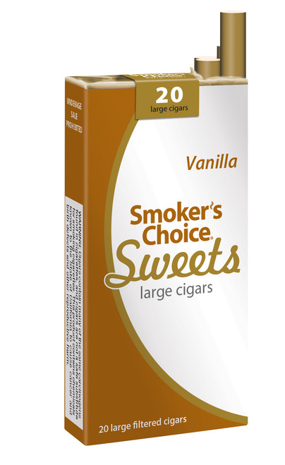 Smoker's Choice Sweets Large Cigars Vanilla Pack