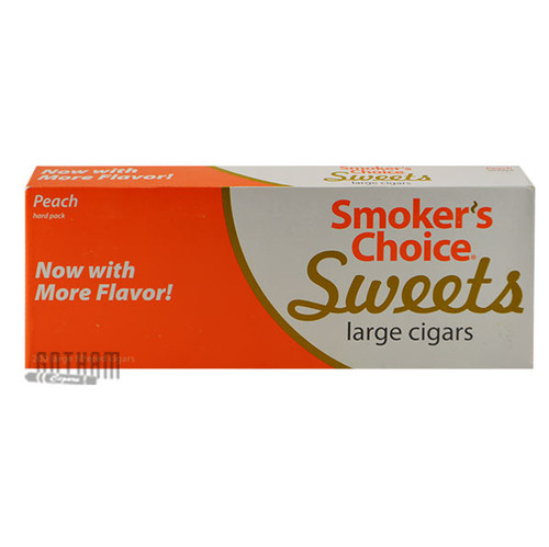 Smoker's Choice Sweets Large Cigars Peach