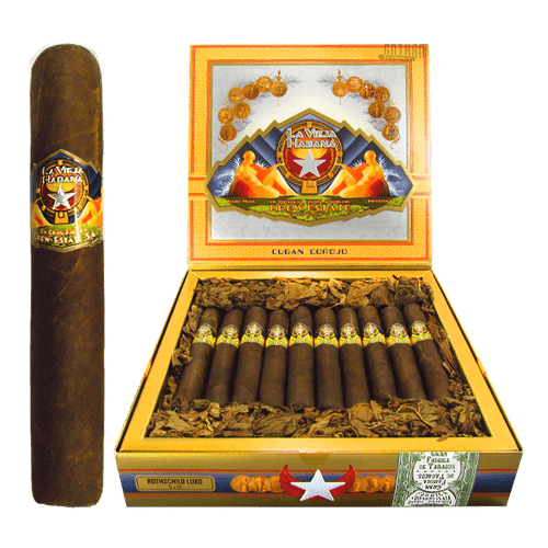La Vieja Habana Corojo Rothschild Luxo Box and Stick