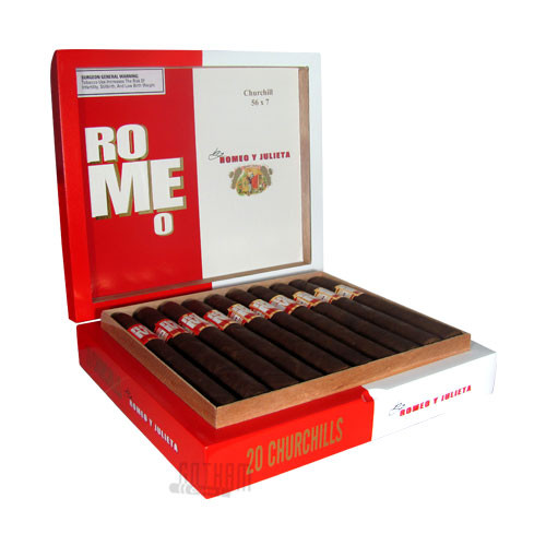 Romeo by Romeo Y Julieta Churchill Open box