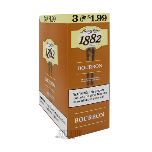 Garcia y Vega 1882 Bourbon Cigarillos Box