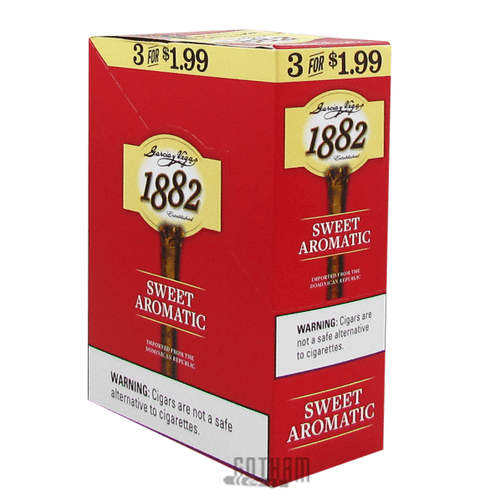Garcia y Vega 1882 Sweet Aromatic Cigarillos Box