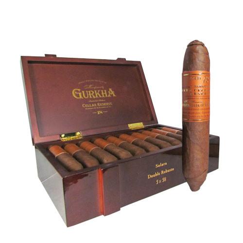 Gurkha Cellar Reserve 18 Year Edicion Especial Solara box & stick