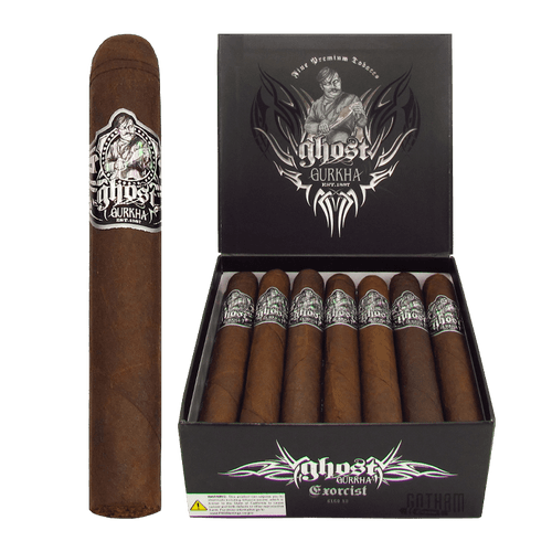 Gurkha Ghost Exorcist Open Box and Stick