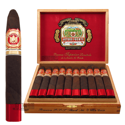 Arturo Fuente Anejo Shark No. 77 Box and Stick