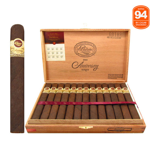 Padron 1964 Anniversary Imperial Maduro  Open Box and Stick