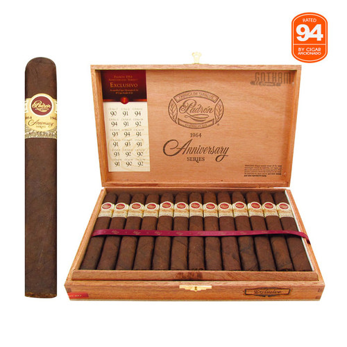 Padron 1964 Anniversary Exclusivo Maduro Open Box and Stick