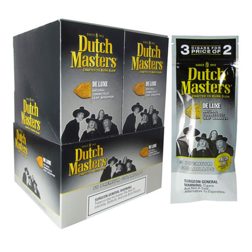 Dutch Masters Cigarillos Deluxe 3 Pack & Stick