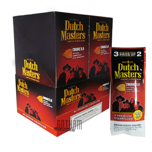 Dutch Masters Cigarillos Cognac 3 Pack
