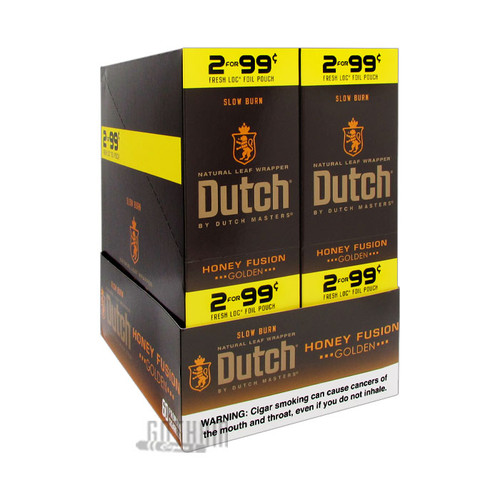 Dutch Masters Cigarillos Honey Fusion Box