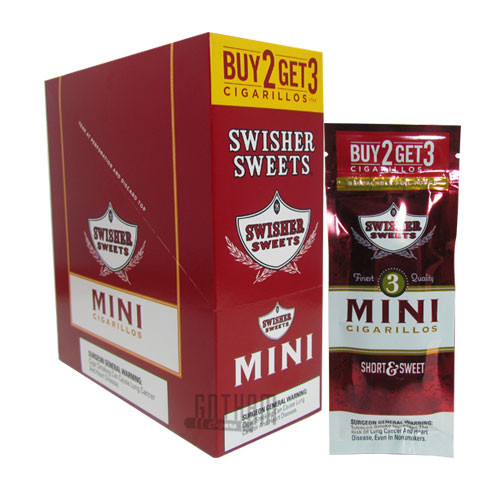 Swisher Sweets Mini Cigarillos Buy 2 get 3